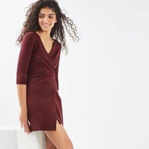 Topshop Ponte Wrap Dress